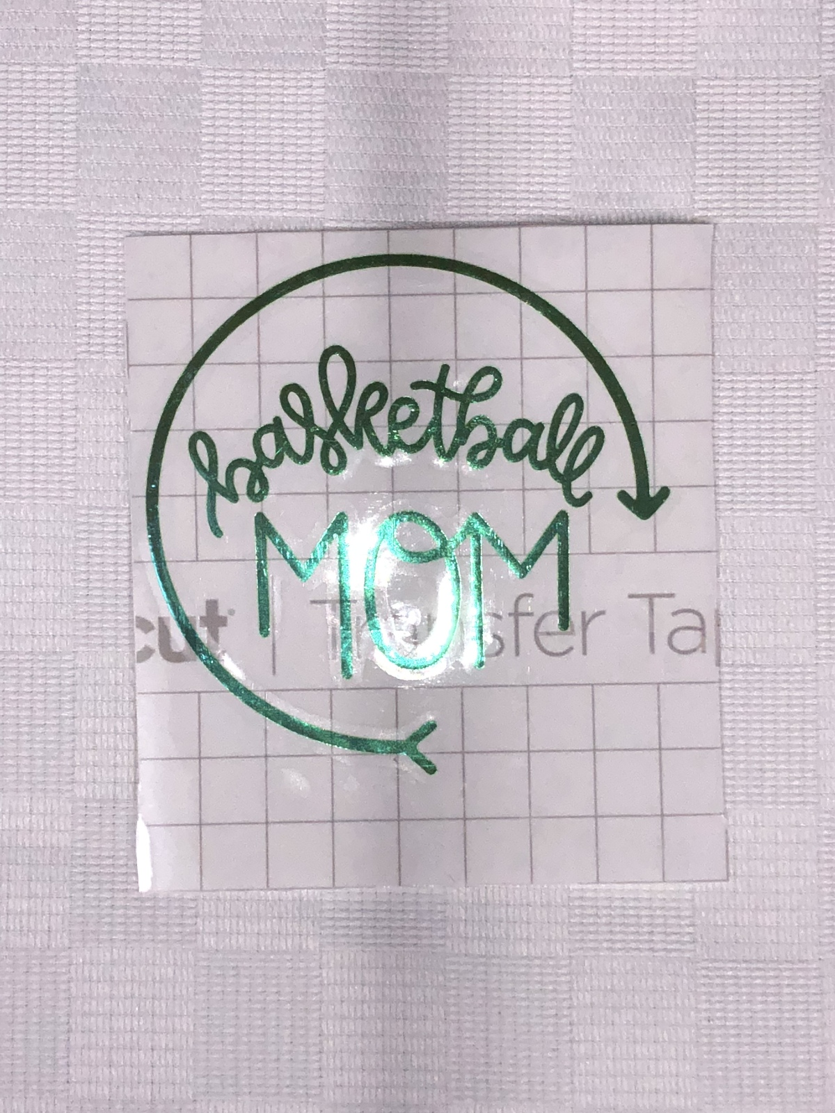 Custom Basketball Mom Vinyl Decal.