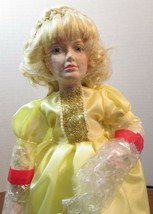 "DANBURY MINT  Porcelain Doll  10"" STORYBOOK  ""CINDERELLA"" - $34.65"