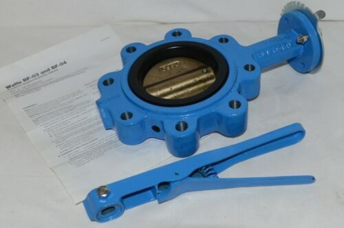 Watts Ames BF03 121 12 M2 Full Lug Butterfly Valve 0525603