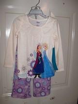 Disney Frozen Elsa & Anna Purple 2PC Pajama Set Size 3 Girl's NEW - $27.59