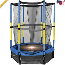 Bounce Pro 55-Inch My First Trampoline with Safety Enclosure Blue Ages 3... - $120.36