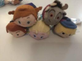 """Disney TSUM TSUM FROZEN 3.5"""" Mini Plush Elsa Hans Anna Sven Kristoff 5 ct - $19.75"""