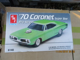 AMT 1970 Coronet Super Bee P/S 1/25 scale - $29.99