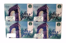 Starbucks Washington Square NYC Gift Card Lot 4 No Value Release 2017 Tourist - $6.99