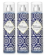 Bath & Body Works Mediterranean Blue Waters Fine Fragrance Mist - Lot of 3 - $28.99