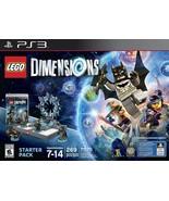 LEGO Dimensions Starter Pack - PlayStation 3 - $99.68