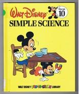 ORIGINAL Vintage 1983 Disney Library #10 Simple Science Hardcover Book - $9.49