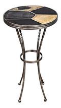 Elegant Slate Top Metal Base Side End Table Coffee Vintage Mid Century M... - $574.64