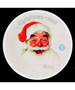 1988 Norman Rockwell Society Christmas Plate #15 SANTA CLAUS Knowles Box... - $9.90