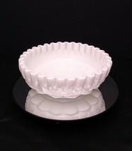 Westmoreland Panel Grape White Milk Glass Bon Bon Dish PG-143 - $34.95