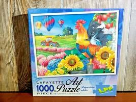 "Lafayette Art Puzzles Jigsaw Puzzle ""Applelane Farms"" 1000 piece NEW - $14.95"