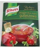 KNORR Hungarian Goulash Gulaszowa soup onion - Made in Poland FREE SHIPPING - $5.93