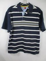 Tommy Hilfiger Boy'S Size L 100% Cotton Short Sleeve Striped Polo Shirt - $20.80