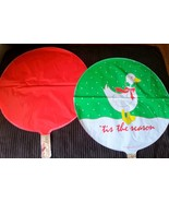 Christmas Duck Snow Decoration BALLOON Birthday Party Favors 3 PC Red Du... - $11.83