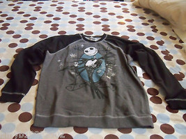 Disney The Nightmare Before Christmas Jack Sweatshirt Size 14 Youth NEW - $26.10