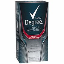 Degree Men Clinical Antiperspirant Deodorant, Sport Strength 1.7 oz, Pac... - $27.49