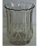 Vase -  6 inches high x 4 inches top and bottom - $19.00