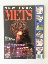 New York Mets 1990 MLB Baseball Yearbook  - Ron Darling - Gregg Jeffries - $6.64