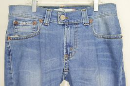 Levi 542 jeans slouch 10 x 31 flare twisted leg flap back pockets boho hippie image 3