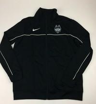 Nike UCONN Huskies Rivalry Full Zip Basketball Jacket Men's Medium Black... - $29.59