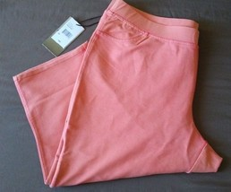 NEW Baccini Women's Pull On Capri Pants -Plus 2X - Free Shipping - $48.99