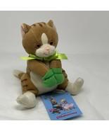 "Stuffins Fairy Tale Friend Plush Little Kitty Green Mittens Stuffed Toy 8"" - $14.85"