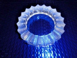 Lalique clear and frosted crystal jamaique ashtray #10702 - $1,250.00