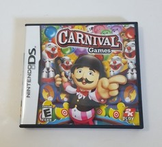 Carnival Games - Nintendo DS NDS Video Game - 2008 Complete CIB - $10.84