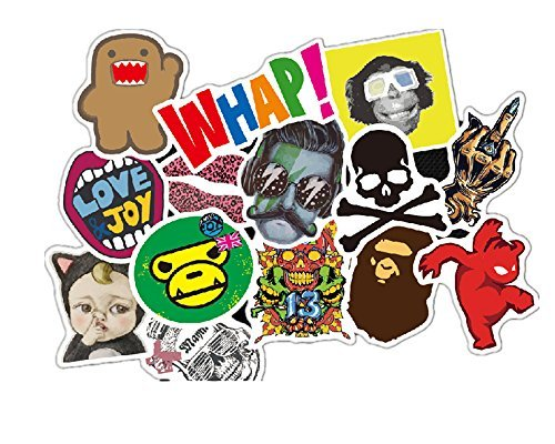 InnoWis Lovely Vinyl Stickers for Laptop, Cars, Motorcycle, Bicycle, Skateboard,