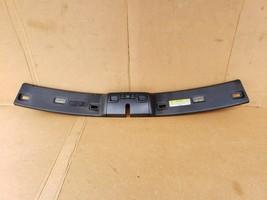 98-04 Volvo C70 Convertible Overhead Bow Console Dome Light Visor Trim Panel BLK