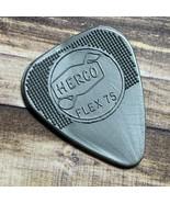 Jim Dunlop guitar tuning pick Herco Flex 75 nylon made usa silver x36 pl... - $49.45