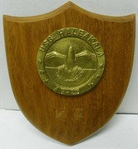 USS HALEAKALA VINTAGE MILITARY PLAQUE AE-25, US NAVY - $48.51