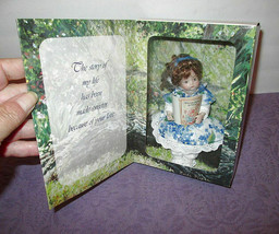 Marie Osmond X Nelda Pieper Enlightened Porcelain Doll Boxed Limited Edition - $19.03