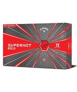Callaway Golf Superhot Bold Matte Golf Balls Pack of 15, Red - $27.91