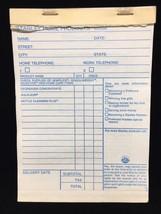 Stanley Home Products party receipt book 1980's memorabilia ephemera car... - $9.50