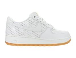 Womens Nike Air Force 1 '07 Premium White Summit White Gum Brown 616725-104 - $84.99