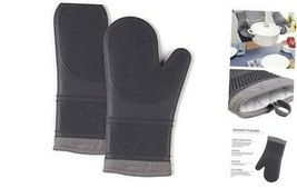 Silicone Oven Mitts, 500 Degree Heat Resistant, Machine Washable, 2-Pack... - $19.08