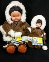 Northern Neighbors Eskimo Dolls Naulik #902 Aqpik #912 Kipmik Products A... - $28.45