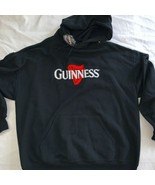 Official Guinness Beer Harp Mens XL L/S Hoodie Sweatshirt New NWT stout - $28.49