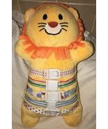 "Bucklyboo Plush Stuffed Orange Lion 18"" VHTF Award Winning Developmental... - $24.99"