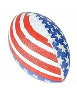 Patriotic Stars and Stripes American Flag Football July 4th Party - $10.57
