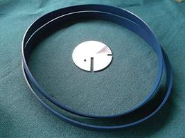 "2 BLUE MAX BAND SAW TIRES and TABLE INSERT FOR CRAFTSMAN 12"" 113.243311 ... - $68.74"