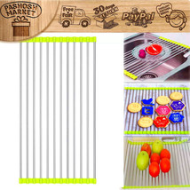 Kitchen Over the Sink Roll Up Drying Rack Drain... - $16.18