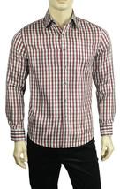New Mens Tasso Elba Long Sleeve Striped Button Front Dress Shirt S 14-14.5 $69 - $18.99