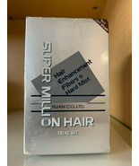Super Million Hair Fiber Trial Set #3 LIGHT BROWN - NEW IN BOX - Fast Fr... - $23.99