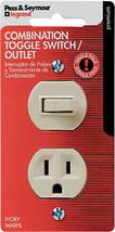 Ivory Single-Pole Switch & Receptacle - $16.82