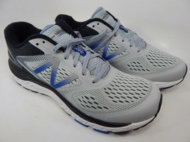 New Balance 840 v4 Size 9.5 M (D) EU 43 Men's Running Shoes Gray Blue ML840GB4