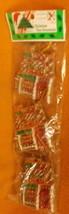 Misco Plastic Christmas Tree Ornaments 6 Pieces #X6579-1 UPC:031462539630 - $7.53