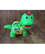 VTech Chomp And Count Dino Educational Toy Baby Toddler Songs Learning - $14.01