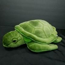 "Russ Green Turtle Realistic Plush Stuffed Reptile 12"" Yomiko Classics Gr... - $24.74"